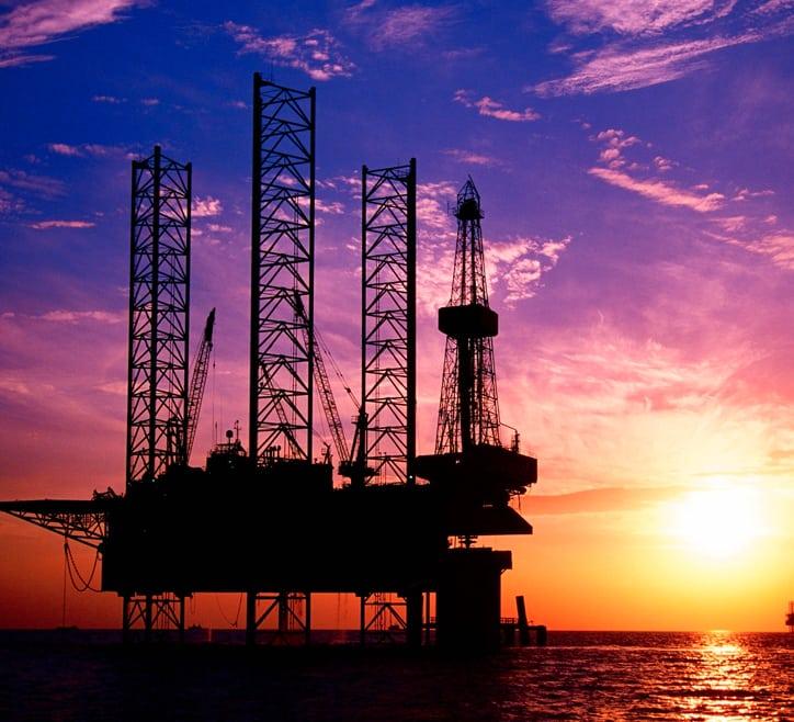 ETL energy - oil rig